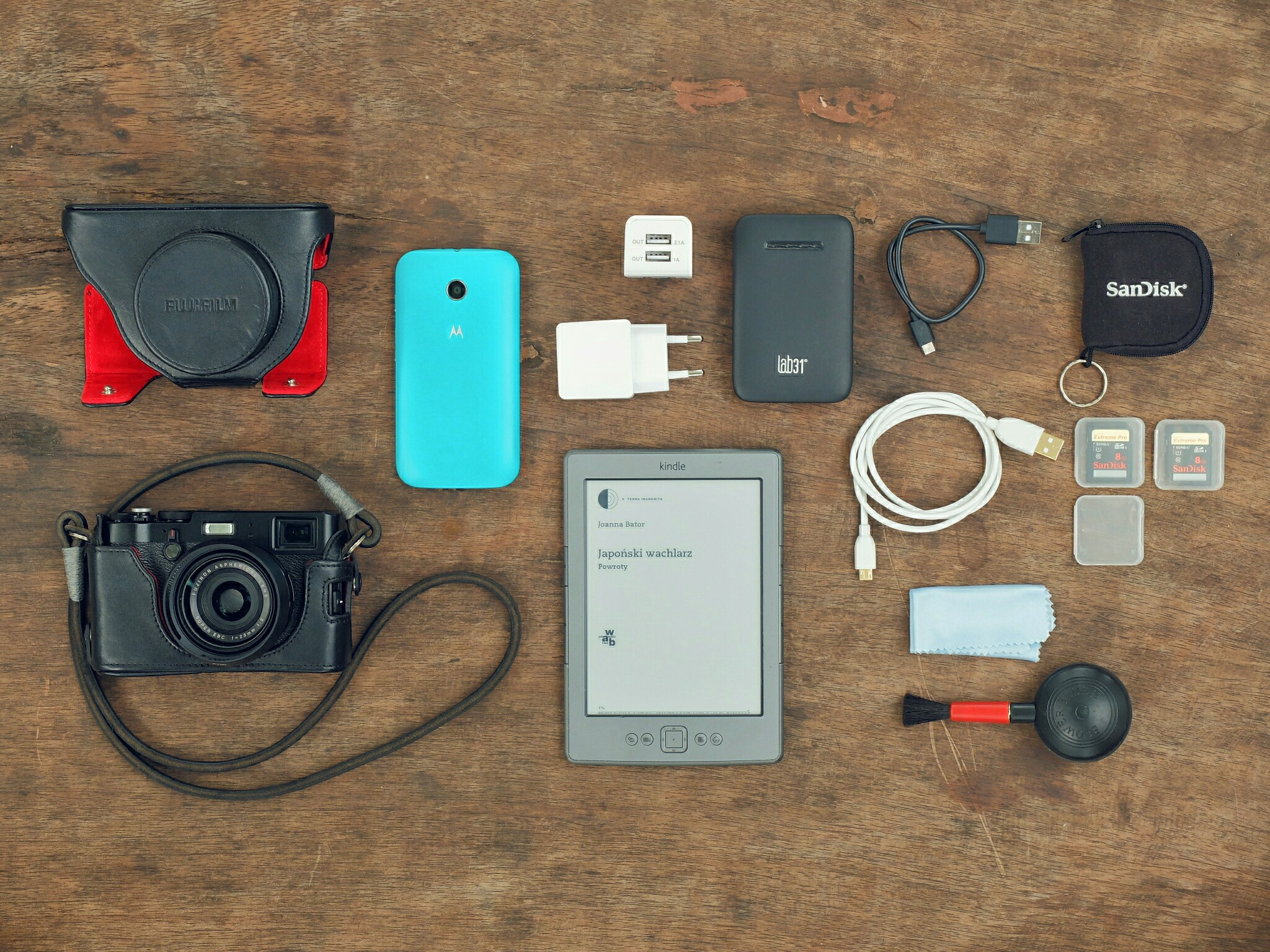 My 2015 photo travel kit